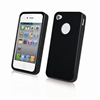 Funda Minigel Negra Apple iPhone 4/4S Muvit