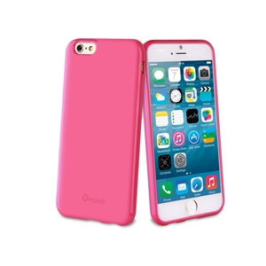 Muvit - Funda Minigel Rosa Apple iPhone 6 Muvit