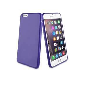 Muvit - Funda Minigel Lila Apple iPhone 6 5.5 Muvit