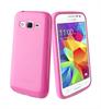 Muvit - Funda Minigel Rosa Samsung Core Prime muvit