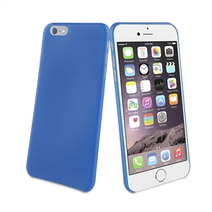 Muvit - Funda Ultrafina 0,35mm Classic Blue (Azul Oscuro) Apple iPhone 6 Plus muvit