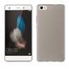 Muvit Funda Minigel Ultrafina Negra Transparente Huawei P8 Lite + Protector Pantalla muvit