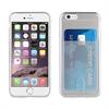 Muvit Funda Minigel Transparente con ranura para tarjetas iPhone 6 Plus/ 6S Plus muvit