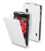 Funda Slim S Blanca + Protector Pantalla LG Optimus L5 II E460 Muvit