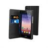 Funda Slim Folio Negra Función Soporte y Tarjetero Huawei P7 Muvit