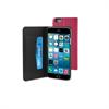 Funda Slim Folio Función Soporte Rosa/Negra iPhone 6 Muvit