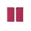 Muvit - Funda Slim Folio Función Soporte Rosa/Negra iPhone 6 Muvit