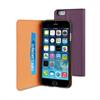 Funda Slim Folio Función Soporte Lila/Negra iPhone 6 Muvit