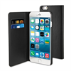 Funda Slim Folio Función Soporte Negra Apple iPhone 6 5.5 Muvit