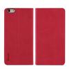Muvit - Funda Slim Folio Función Soporte Rosa/Negra iPhone 5.5 Muvit