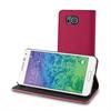 Funda Wallet Folio Rosa/Negra Función Soporte y Tarjetero Samsung Galaxy Alpha Muvit