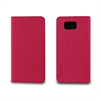 Muvit - Funda Wallet Folio Rosa/Negra Función Soporte y Tarjetero Samsung Galaxy Alpha Muvit
