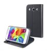 Muvit - Funda Wallet Folio Función Soporte Negra Samsung Core Prime muvit