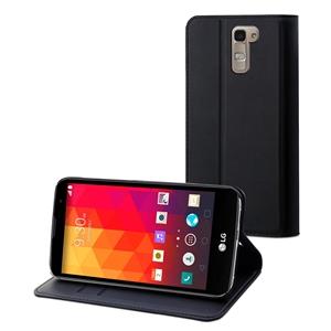 Muvit - Funda Wallet Folio Negra Función Soporte LG G4 muvit