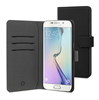 Muvit - Funda Wallet Folio Negra Función Soporte y Tarjetero Samsung Galaxy S6 Edge Plus muvit