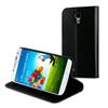 Muvit Funda Wallet Folio Función Soporte Negra Samsung Galaxy S4 muvit