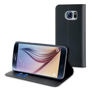 Muvit - Funda Wallet Folio Función Soporte Negra Samsung Galaxy S7 muvit
