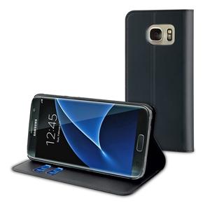Muvit - Funda Wallet Folio Función Soporte Negra Samsung Galaxy S7 Edge muvit