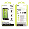 Muvit Tempered Glass 0,33 mm con Marco Negro LG K8 muvit