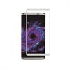 Muvit Protector de Pantalla Tempered Glass 0,33 mm Curvo 3D marco Plata Samsung Galaxy S8 muvit