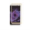 Muvit Protector de Pantalla Tempered Glass 0,33 mm 3D Curvo marco Dorado Samsung Galaxy S8 Plus