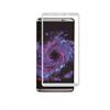 Muvit Protector de Pantalla Tempered Glass 0,33 mm Curvo 3D marco Plata Samsung Galaxy S8 Plus muvit