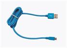 Cable USB-Micro USB 2100mAh Cordón Azul (datos-carga) 1.2m Muvit