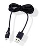 Cable USB Micro USB 1A Negro (Datos/Carga) Muvit