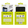 Muvit Pack Vodafone para iPhone 6/6S (MUSNS0080, MUSCP0623, MUDCC0091)