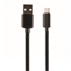 Muvit Cable USB Tipo C Magnético Negro 2A 1m muvit