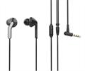 Muvit muvit auriculares estéreo SEU 3.5mm con almohadillas negro