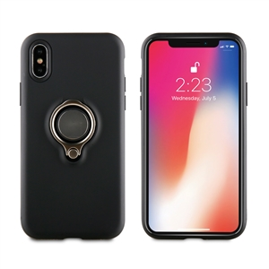 Muvit - muvit carcasa ring magnetica Apple iPhone 6,5&quote; negra