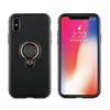 Muvit - muvit carcasa ring magnetica Apple iPhone X negra