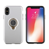 Muvit muvit carcasa ring magnetica Apple iPhone X plateada