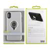 Muvit - muvit carcasa ring magnetica Apple iPhone X plateada