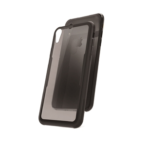 Muvit - muvit carcasa Skin Apple iPhone 9 vidrio templado marco negro