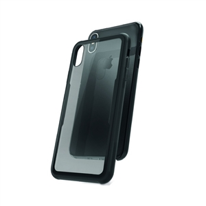 Muvit - muvit carcasa Skin Apple iPhone XS Max vidrio templado marco negro