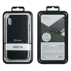 Muvit - muvit Cristal Soft Apple iphone 6,1&quote; funda fibra carbono negra