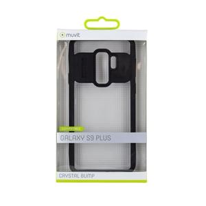 Muvit - muvit funda Cristal Bump Samsung Galaxy S9 Plus negra