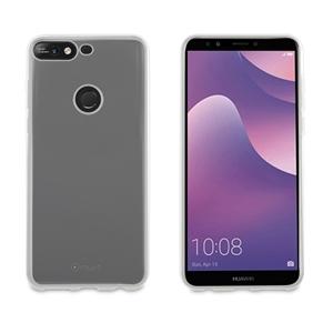 Muvit - muvit funda Cristal Soft Huawei Y7 2018 transparente