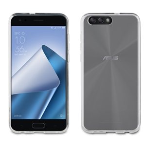 Muvit - Funda Crystal Soft Transparente Asus Zenfone 4 5,5&quote;(ZE554KL) muvit