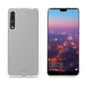 Muvit - Funda Crystal Soft Transparente Huawei P20 Plus muvit