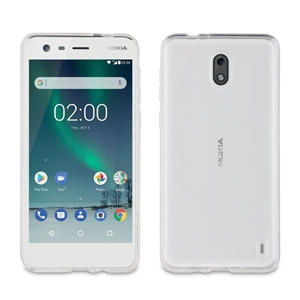 Muvit - Funda Crystal Soft Transparente Nokia 2 muvit