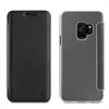 Muvit Funda Folio Negra parte trasera Transparente Samsung Galaxy S9 muvit