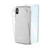 Muvit - muvit pack Apple iPhone 6,1&quote; funda Cristal transparente + protector pantalla vidrio templado plano