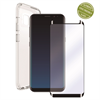 Muvit Pack Funda Cristal Soft + Protarente+Protector de pantalla flexible Samsung Galaxy S9 muvit