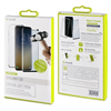 Muvit - Pack Funda Cristal Soft + Protarente+Protector de pantalla flexible Samsung Galaxy S9 muvit