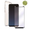 Muvit Pack Funda Cristal Soft + Protarente+Protector de pantalla flexible Samsung Galaxy S9 Plus muvit