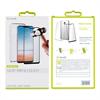 Muvit - muvit pack LG G7 2018 funda Cristal Soft transparente + protector pantalla vidrio templado plano mar