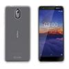 Muvit muvit pack Nokia 3,1 funda Cristal Soft transparente + protector pantalla vidrio templado plano